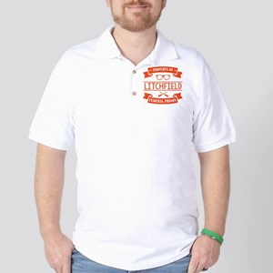 Property of Litchfield Federal Prison Golf Shirt