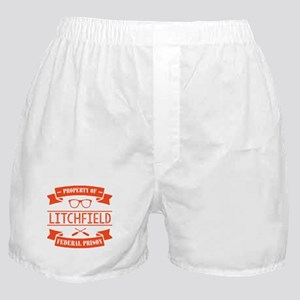 Property of Litchfield Federal Prison Boxer Shorts