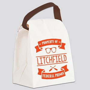 Property of Litchfield Federal Pr Canvas Lunch Bag