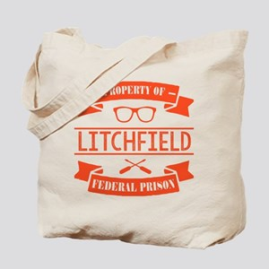 Property of Litchfield Federal Prison Tote Bag