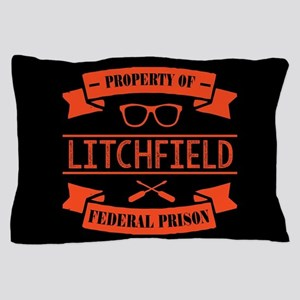 Property of Litchfield Federal Prison Pillow Case