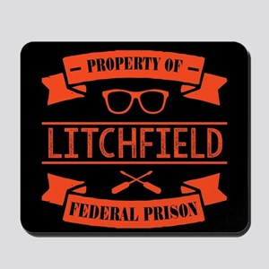 Property of Litchfield Federal Prison Mousepad