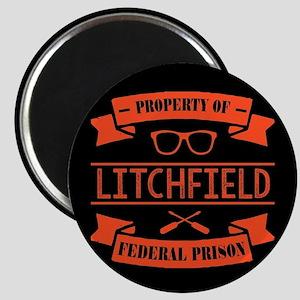 Property of Litchfield Federal Prison Magnet