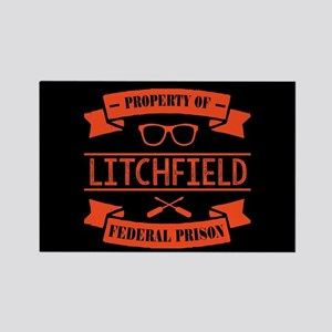 Property of Litchfield Federal Pr Rectangle Magnet