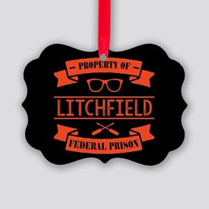 Property of Litchfield Federal Pr Picture Ornament
