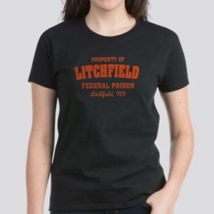 OITNB Litchfield Federal Pris Women's Dark T-Shirt