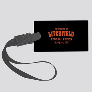 OITNB Litchfield Federal Prison Large Luggage Tag