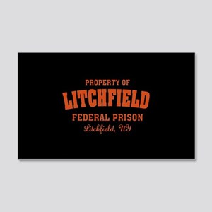 OITNB Litchfield Federal Prison 20x12 Wall Decal