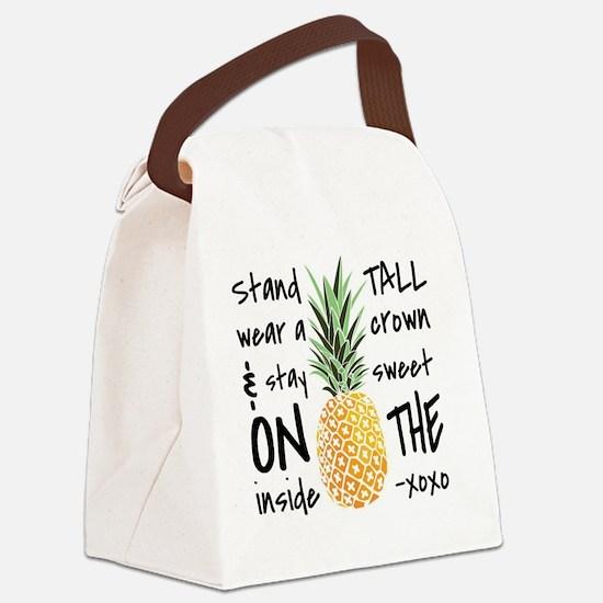 Cute Trendy Canvas Lunch Bag