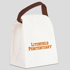 Litchfield Orange Canvas Lunch Bag