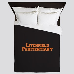 Litchfield Orange Queen Duvet
