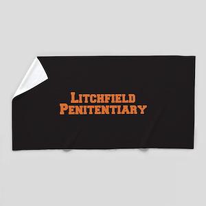 Litchfield Orange Beach Towel