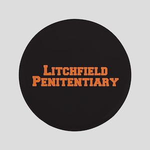 Litchfield Orange Button