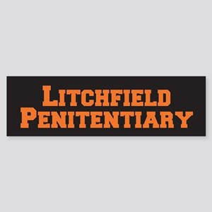 Litchfield Orange Sticker (Bumper)