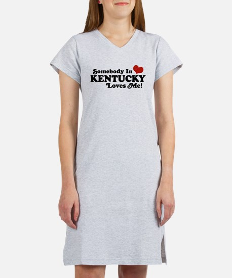Cute Someone is missouri loves me Women's Nightshirt