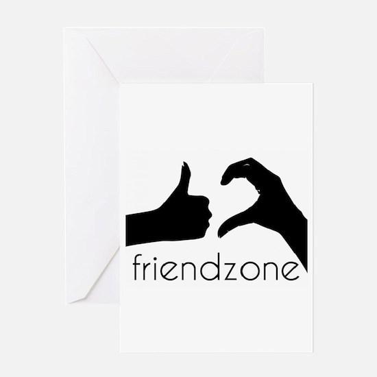 thefriendzone Greeting Cards