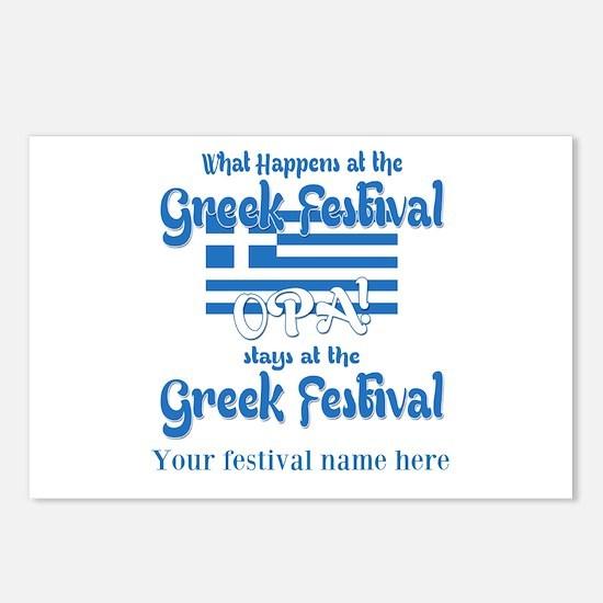 Greek Festival Postcards (Package of 8)