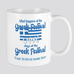 Greek Festival Mugs