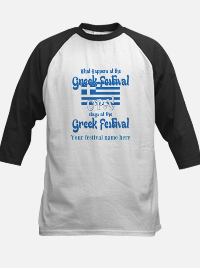 Greek Festival Baseball Jersey