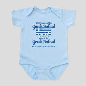 Greek Festival Body Suit