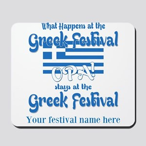 Greek Festival Mousepad