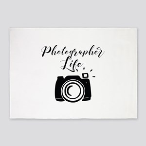 Photographer Life 5'x7'Area Rug