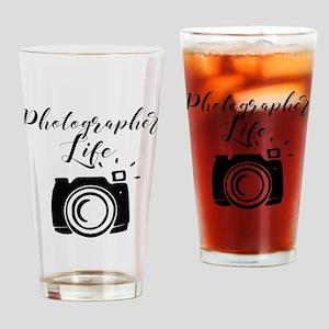 Photographer Life Drinking Glass