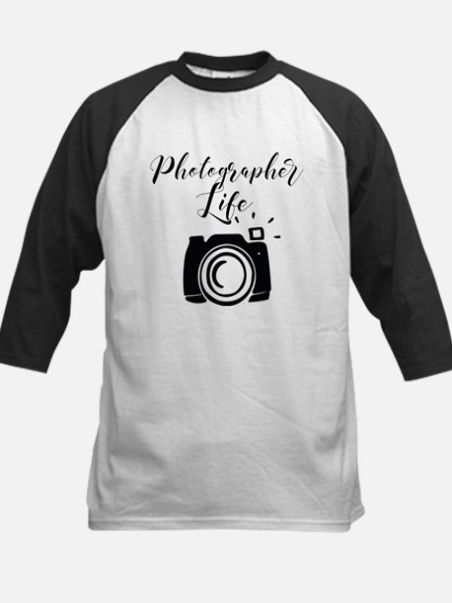 Photographer Life Baseball Jersey