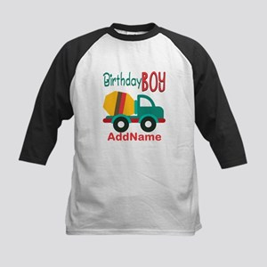 Customized Construction Cement Mixers Birthday Bas