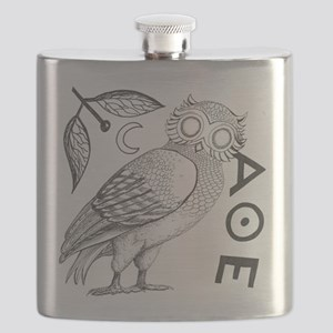 Athenian Owl Flask