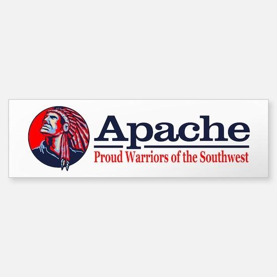 Apache Bumper Bumper Bumper Sticker