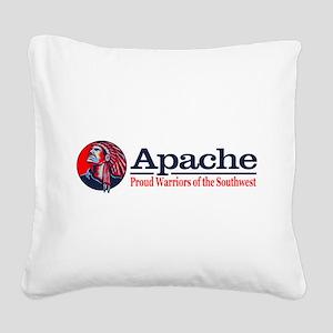 Apache Square Canvas Pillow