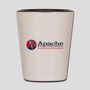 Apache Shot Glass