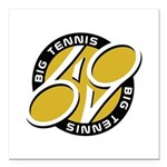 Big Tennis - Tennis Brand Square Car Magnet 3
