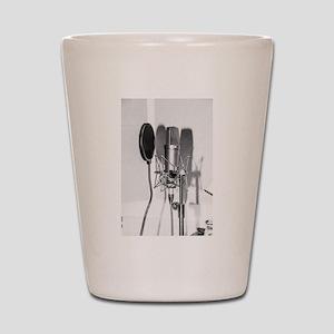 Microphone recording equipment for voca Shot Glass