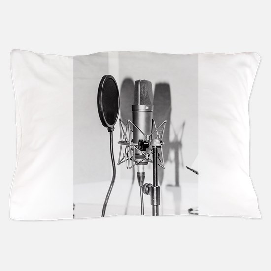 Microphone recording equipment for voc Pillow Case