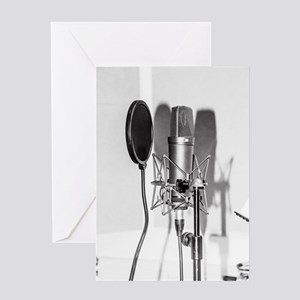 Recording greeting cards cafepress microphone recording equipment for greeting cards m4hsunfo