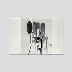 Microphone recording equipment for vocals Magnets