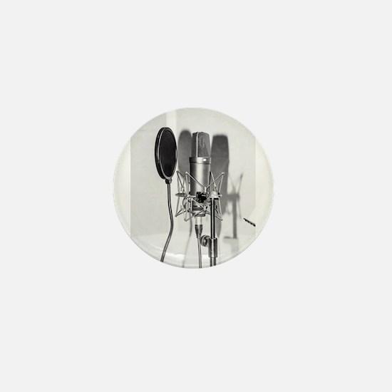 Microphone recording equipment for voc Mini Button