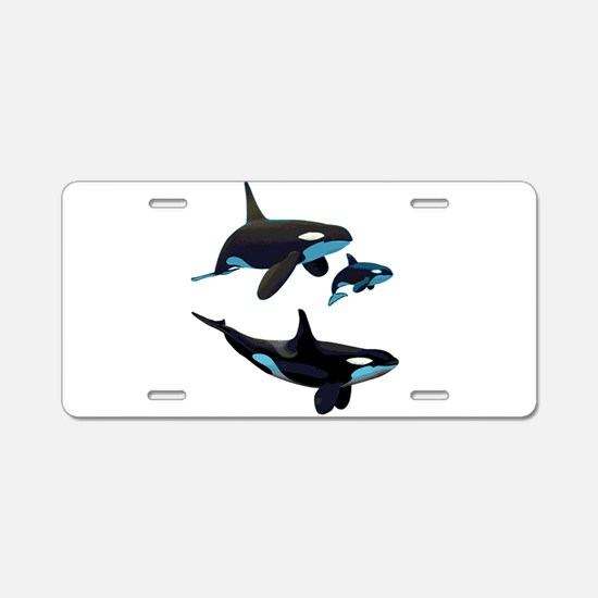 FAMILY Aluminum License Plate