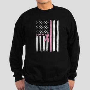 Ribbon Flag Fight Sweatshirt (dark)