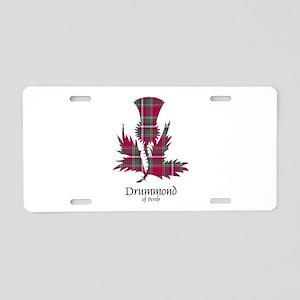 Thistle - Drummond of Perth Aluminum License Plate
