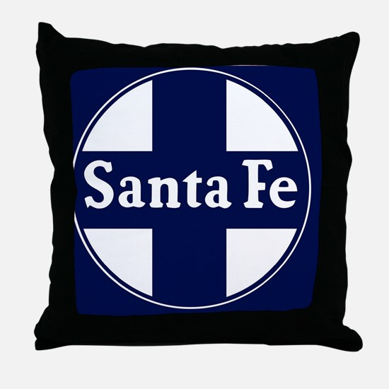 Funny Santa fe Throw Pillow