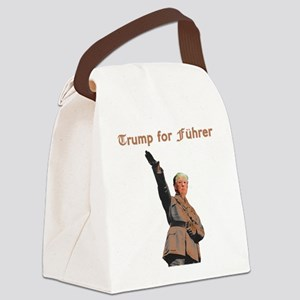 Trump for Fuhrer Canvas Lunch Bag