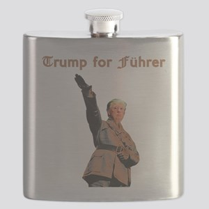 Trump for Fuhrer Flask