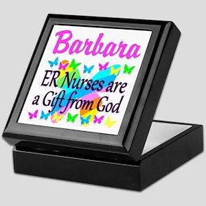 ER NURSE PRAYER Keepsake Box