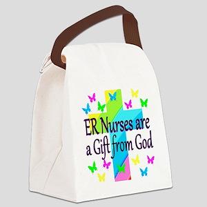 ER NURSE FAITH Canvas Lunch Bag