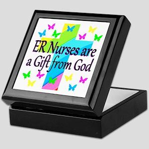 ER NURSE FAITH Keepsake Box