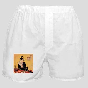 Immortal Poets by Chobunsei Eishi Boxer Shorts
