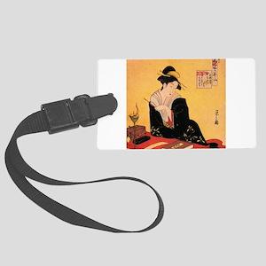 Immortal Poets by Chobunsei Eishi Luggage Tag